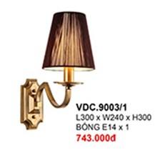 Đèn Tường Kiểu Ý CTK6 VDC.9003/1 L300xW240xH300