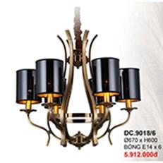 Đèn Chùm kiểu Ý CTK6 DC.9018/6 Ø670xH600