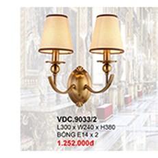 Đèn Tường Kiểu Ý CTK6 VDC.9033/2 L300xW240xH380