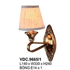 Đèn Tường Kiểu Ý CTK6 VDC.9665/1 L140xW330xH240