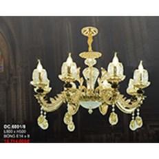 Đèn Chùm Pha Lê Nến CTK6 DC.6001/8 L800xH500