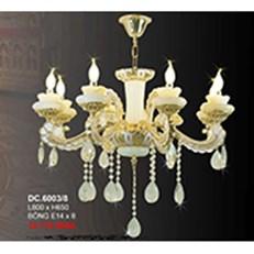 Đèn Chùm Pha Lê Nến CTK6 DC.6003/8 L800xH650