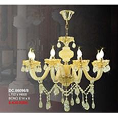 Đèn Chùm Pha Lê Nến CTK6 DC.86096/8 L750xH600