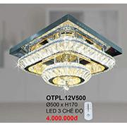 Đèn Mâm Pha Lê CTK6 OTPL.12V500 Ø500xH170