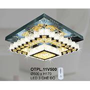 Đèn Mâm Pha Lê CTK6 OTPL.11V500 Ø500xH170
