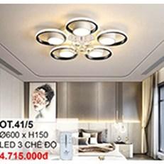 Đèn áp trần LED CTK6 OT.41/5 Ø600xH150
