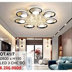Đèn áp trần LED CTK6 OT.41/7 Ø800xH150