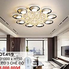 Đèn áp trần LED CTK6 OT.41/9 Ø1000xH150