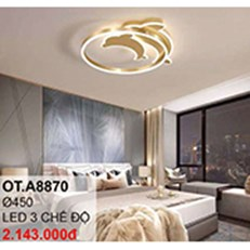 Đèn áp trần LED CTK6 OT.A8870 Ø450