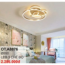 Đèn áp trần LED CTK6 OT.A8876 Ø550