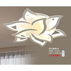 Đèn áp trần LED CTK6 OT.36/6+3 Ø860xH120