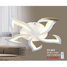 Đèn áp trần LED CTK6 OT.36/5 Ø700xH100