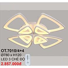 Đèn áp trần LED CTK6 OT.7010/4+4 Ø780xH120