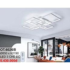 Đèn áp trần LED CTK6 OT.6026/8 Ø850xH1190