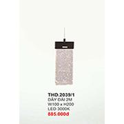 Đèn Thả LED CTK6 THD.2039/1 W100xH200
