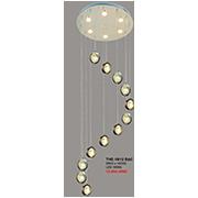 Đèn Thả LED CTK6 THD.19/12 BAC Ø600xH2000
