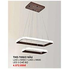 Đèn Thả Nghệ Thuật CTK6 THD.7050/2 NAU L200xW400 + L400xW600