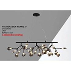 Đèn Chùm Nghệ Thuật CTK6 TTK.HERA DEN NGANG 27 KHOI L900