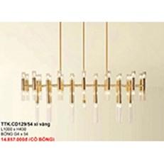 Đèn Chùm Nghệ Thuật CTK6 TTK.CD129/54 XI VANG L1000xH430