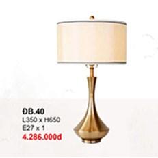 Đèn Bàn Trang Trí CTK6 DB.40 L350xH650