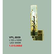 Đèn Tường Pha Lê CTK6 VPL.8859 L100xH200