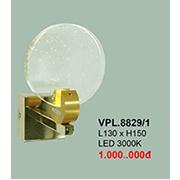 Đèn Tường Pha Lê CTK6 VPL.8829/1 L130xH150
