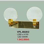 Đèn Tường Pha Lê CTK6 VPL.8829/2 L280xH150