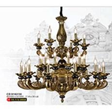 Đèn Chùm Nến Đồng WQ3 CĐ 9192/30 Ø1000xH1000