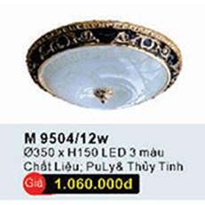 Đèn Ốp Trần Cổ Điển WQ3 M 9504/12W Ø350xH150