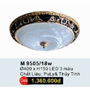 Đèn Ốp Trần Cổ Điển WQ3 M 9505/18W Ø400xH150