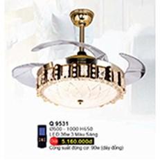 Đèn Chùm Quạt WQ3 Q 9531 Ø500 - 1000xH650