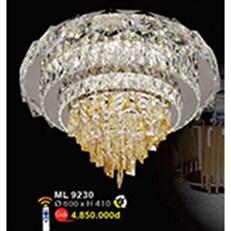 Đèn Mâm Led Pha Lê WQ3 ML 9230 Ø600xH410