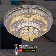 Đèn Mâm Led Pha Lê WQ3 ML 9248 Ø600xH300
