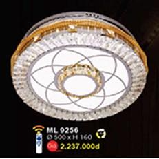 Đèn Mâm Led Pha Lê WQ3 ML 9256 Ø500xH160