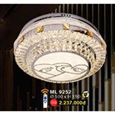 Đèn Mâm Led Pha Lê WQ3 ML 9252 Ø500xH190