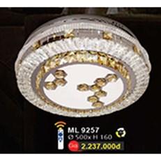 Đèn Mâm Led Pha Lê WQ3 ML 9257 Ø500xH160