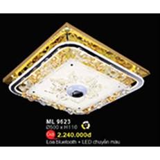 Đèn Mâm Led Pha Lê WQ3 ML 9623 Ø500xH110