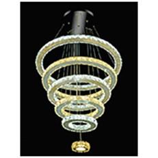 Đèn Thả Pha Lê WQ3 TL 9626 Ø600-500-400-300-200-100xH1000