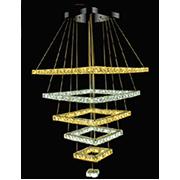 Đèn Thả Pha Lê WQ3 TL 9628 Ø600-500-400-300-200-100xH1000