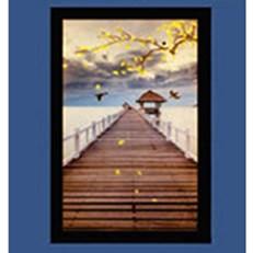 Đèn Tường Tranh Led WQ3 V 9470 L200xH300