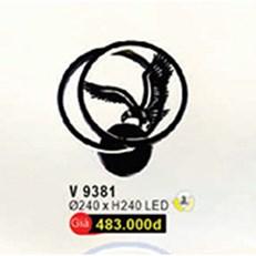 Đèn Tường LED WQ3 V 9381 Ø240xH240