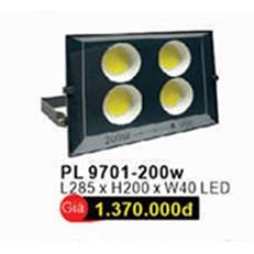 Đèn pha WQ3 PL 9701 L285xH200xW40