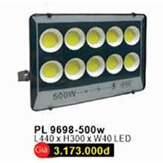 Đèn pha WQ3 PL 9698 L440xH300xW40