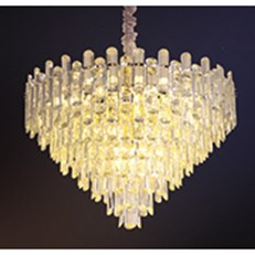 Đèn Chùm Pha Lê HP6 CFL 8190 Ø600xH450
