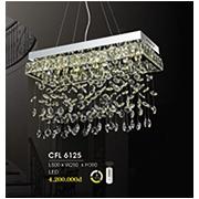 Đèn Thả Pha Lê HP6 CFL 6125 L600xW280xH380