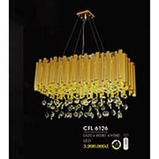 Đèn Thả Pha Lê HP6 CFL 6126 L620xW280xH380