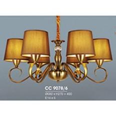 Đèn Chùm Châu Âu HP6 CC 9078/6 Ø680xH270+400