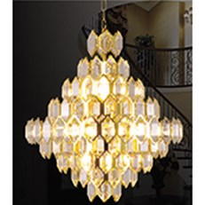 Đèn Chùm Pha Lê HP6 CFL 8042 Ø630xH650