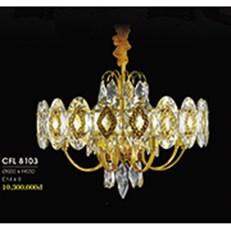 Đèn Chùm Pha Lê HP6 CFL 8103 Ø600xH650