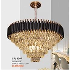 Đèn Chùm Pha Lê HP6 CFL 8097/800 Ø800xH400